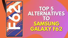 Top 5 Alternatives of Samsung Galaxy F62