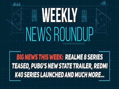 Weekly News Roundup: PUBG New State trailer, Realme 8 Series teased, Redmi K40 and more