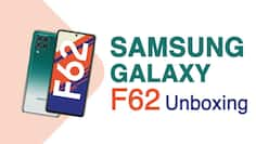 Samsung Galaxy F62 unboxing and first impressions