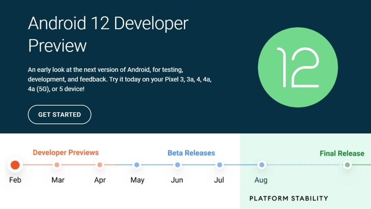 Android 12 Developer Preview: Requirements, How to install and more