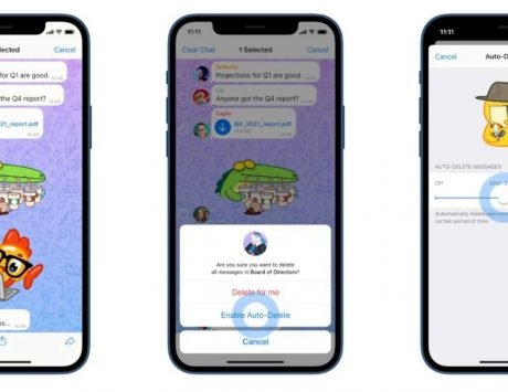Telegram update adds auto-delete feature, home screen widgets: Here's how to use it