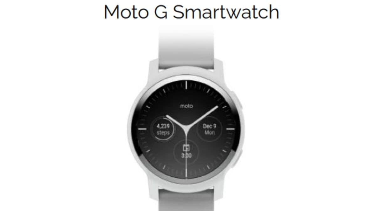 Motorola to launch its new Moto Watch series soon: Here are more details