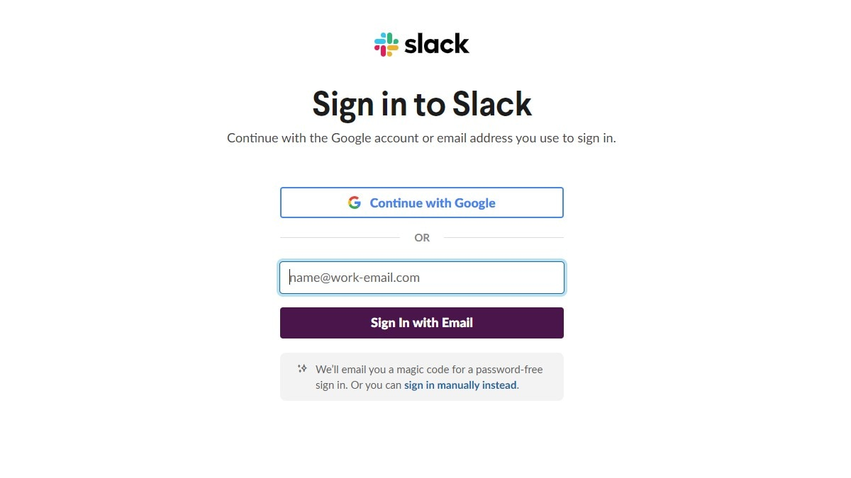 How to change your Slack Android password and delete logs