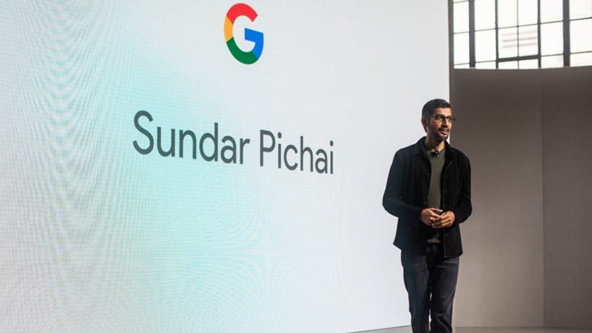 sundar pichai google ceo getty