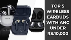 Top TWS earbuds with ANC under Rs 10,000