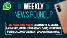 Weekly News Roundup: Redmi Note 10 Series Launched, OnePlus 9 Launch Date, WhatsApp Video Calling for Desktop, and much more...