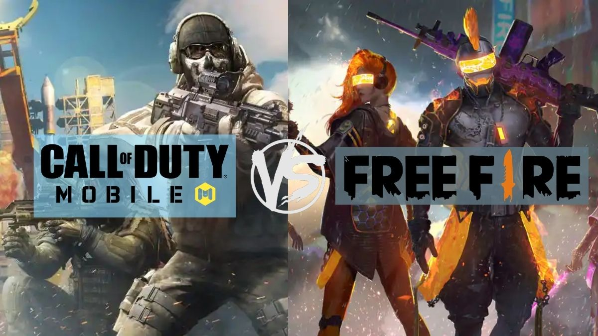 Free Fire vs Call of Duty Mobile: Which battle royale game is better?
