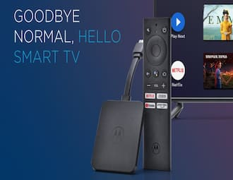 Motorola 4K Android TV Stick launched: Price in India, specifications