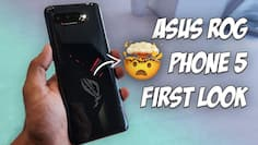 Asus ROG Phone 5 first look