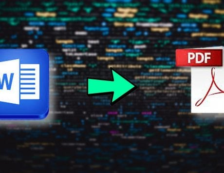 How to convert Microsoft Word File to PDF for free