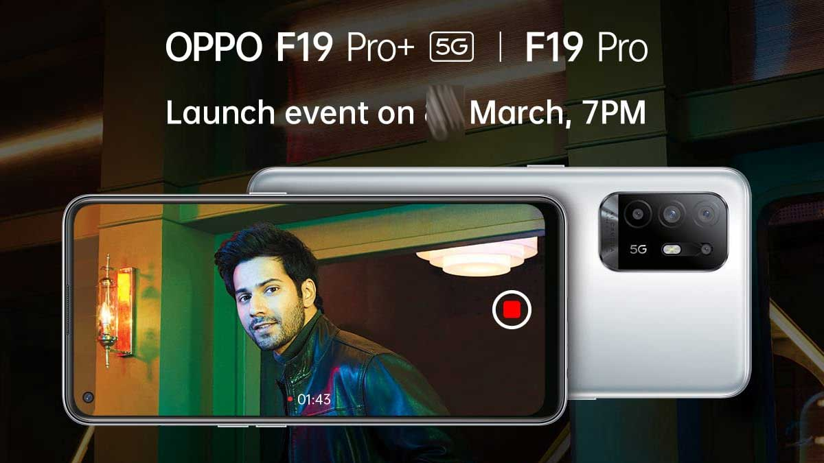Oppo F19 Pro, F19 Pro+, Style Band India launch at 7 PM today: How to watch livestream, what to expect