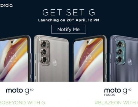 Moto G60, Moto G40 Fusion with Snapdragon 732G set to launch in India on April 20
