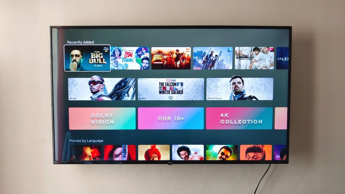 Redmi Smart TV Google Play Console listing reveal FHD display, MediaTek T31 SoC, 2GB RAM
