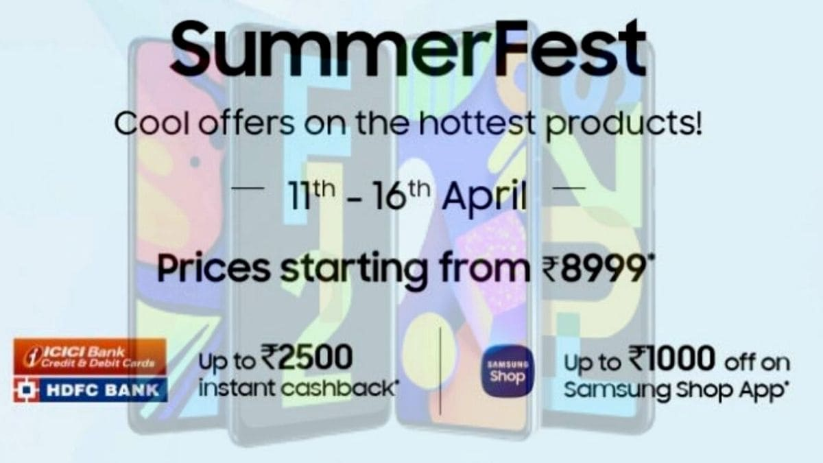 Samsung Summer Fest 2021: Best deals on Galaxy S21 Ultra, Galaxy S21, Galaxy S20 FE, and more