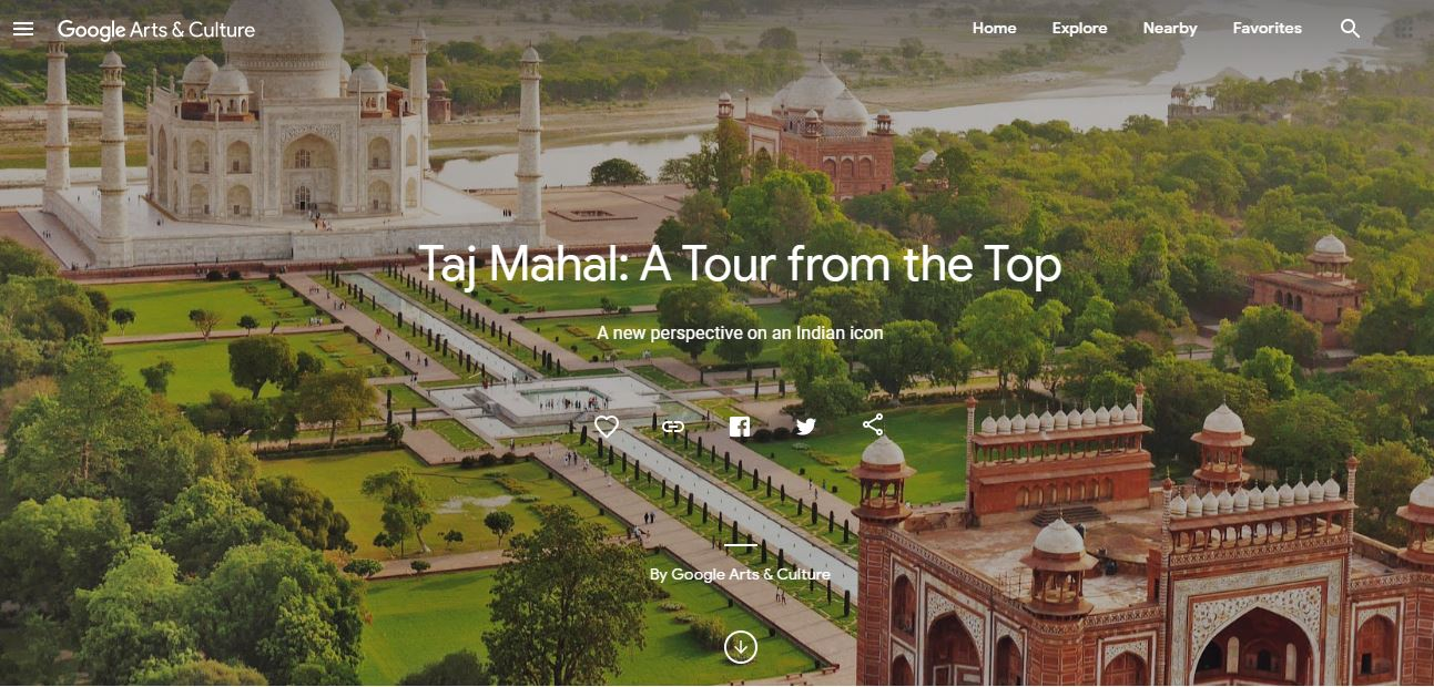 You can now take a virtual tour of the Taj Mahal on Google, here's how