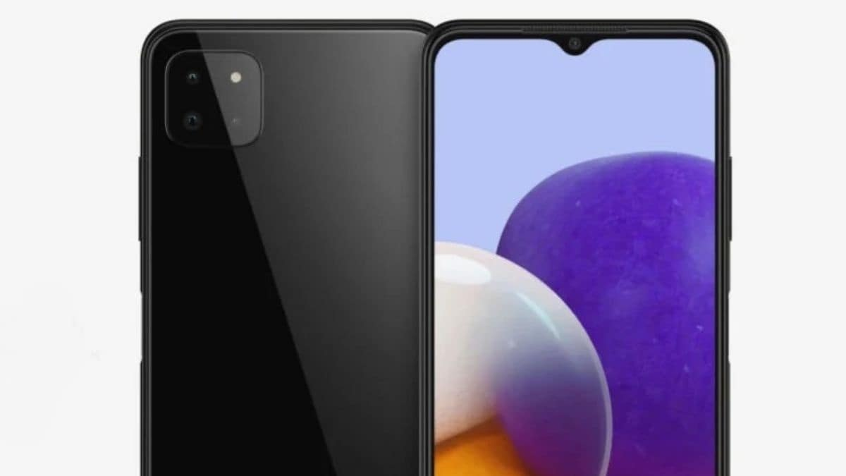 Samsung Galaxy A22 5G leaked renders hint at a Google Pixel-like camera setup