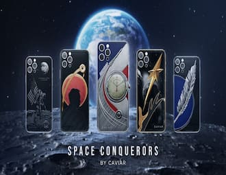 Caviar iPhone 12 Pro    Space Conqueror    edition: First look
