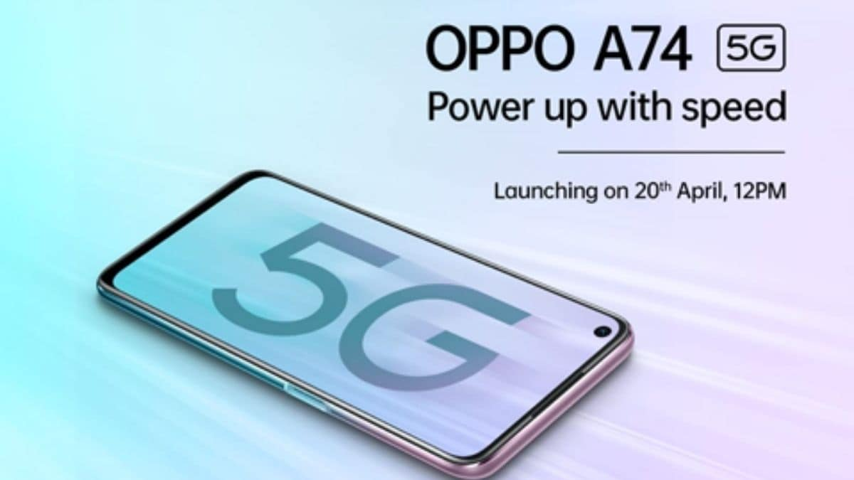 5G Pioneer OPPO, launching OPPO A74 5G with top-of-the-line offering under 20K