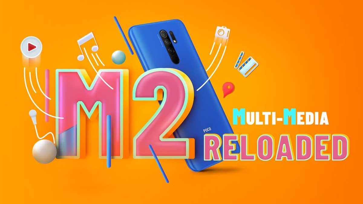 Poco M2 Reloaded India launch today on Flipkart at 12PM, price expected to be under Rs 10,000