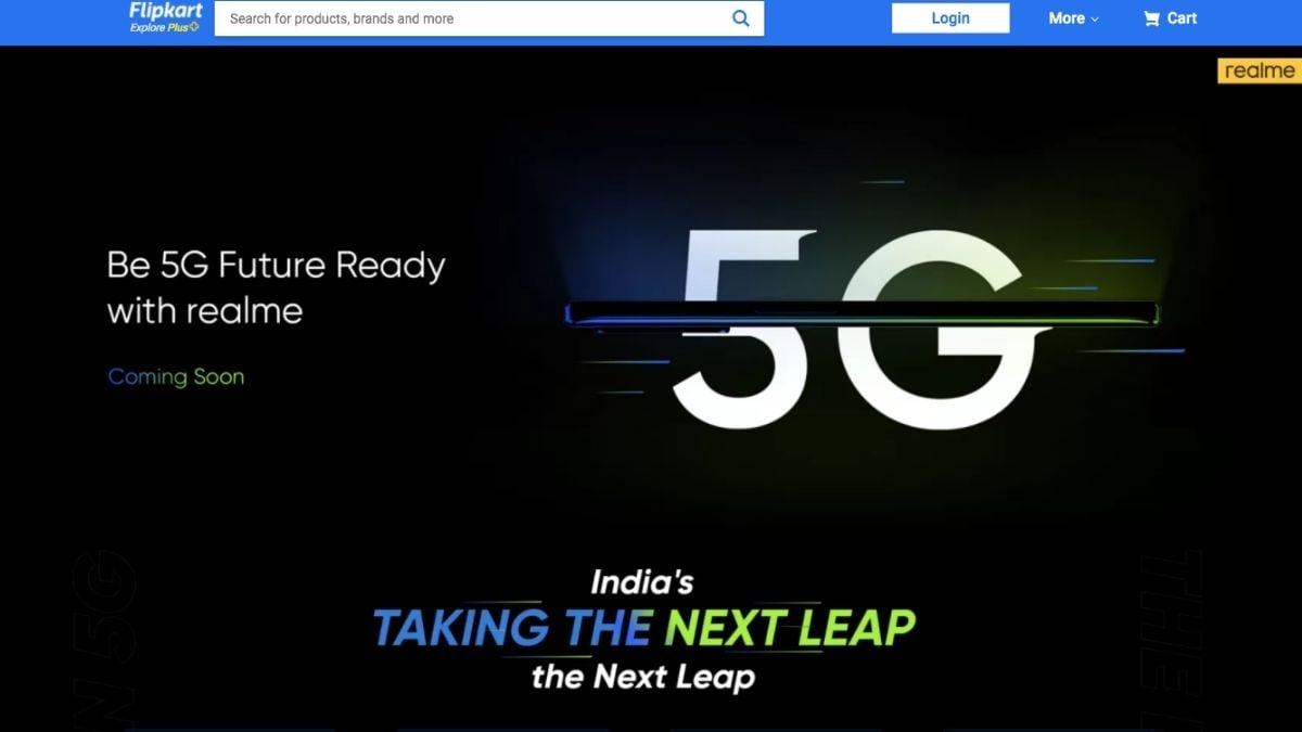 Realme 8 5G with MediaTek Dimensity 700 5G SoC gets listed on Flipkart, India launch soon