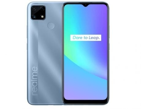 Realme C25 first sale in India at 12 PM on Flipkart