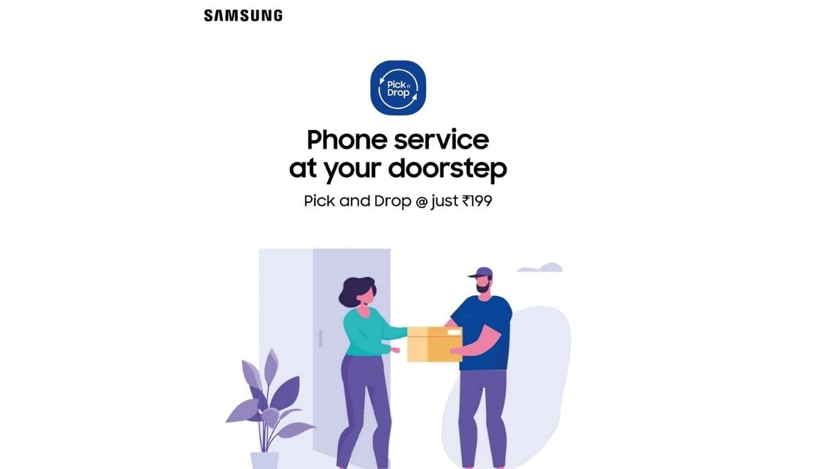 Samsung launches pick-up and drop service for smartphones, tablets in India: How to use
