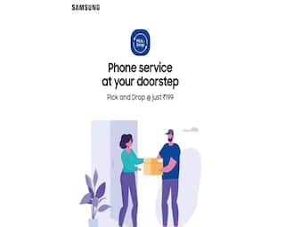 Samsung launches pick-up and drop service for smartphones, tablets in India
