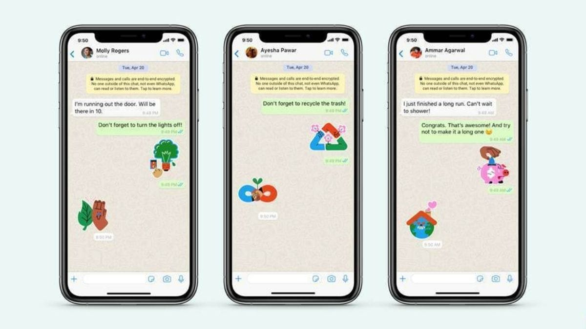 WhatsApp 'Stand up for Earth' stickers introduced: How to download, use?