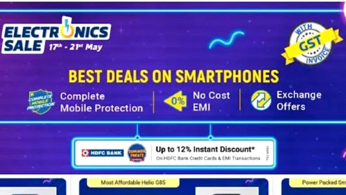 Flipkart Electronics Sale: Discounts, offers on iPhone 11, Realme Narzo 30 Pro 5G, and more