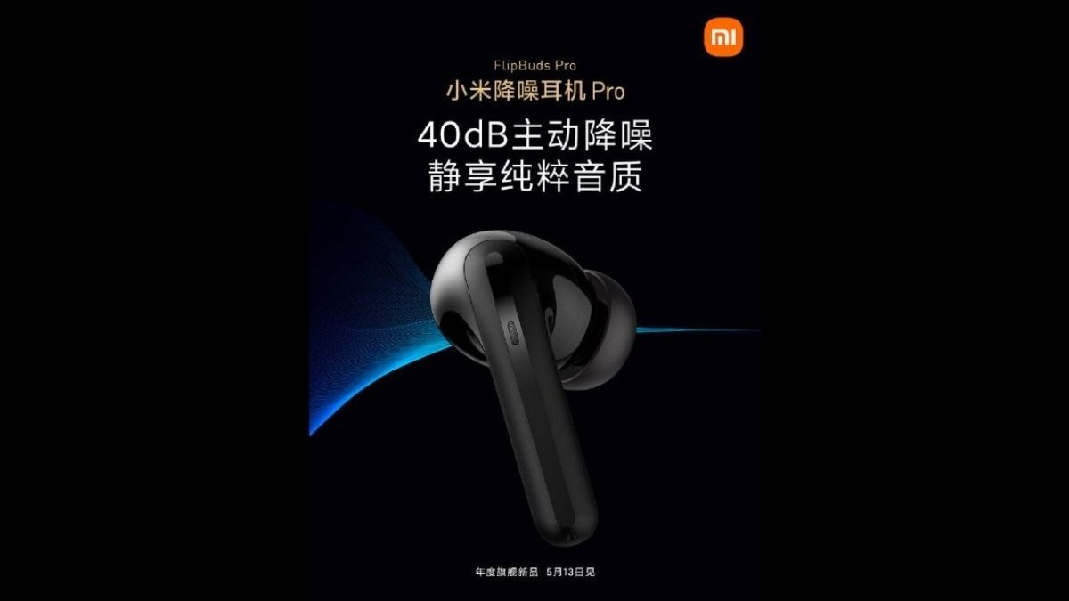 Mi FlipBuds Pro with ANC confirmed to launch on May 13