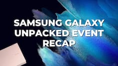 Everything new launched at Galaxy Unpacked in 5 mins