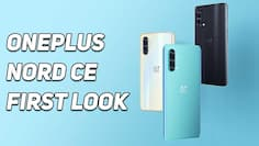OnePlus Nord CE 5G First Look: Here's everything you need to know