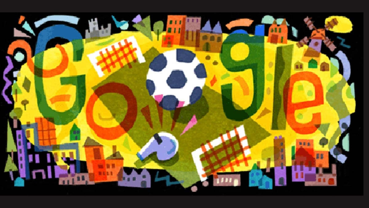 Google Alerts with a Doodle for UEFA Euro 2020