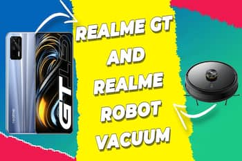 Realme GT with Snapdragon 888 launches globally, Realme Robot Vacuum accompanies