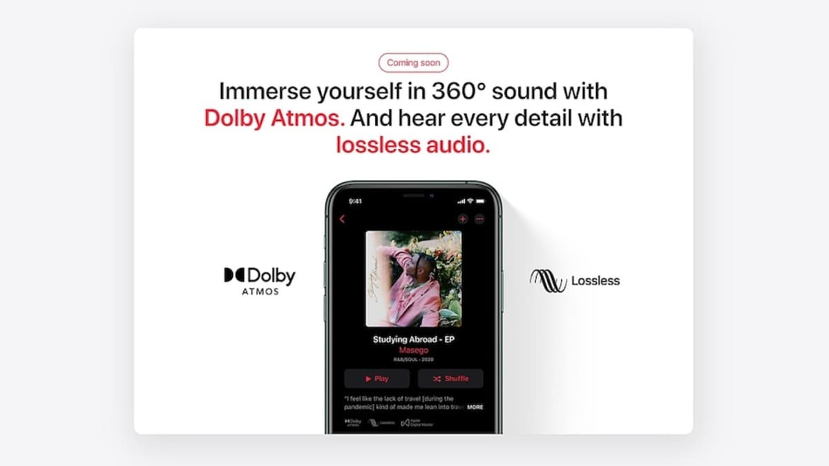 Apple Music Lossless, Spatial Audio features with Dolby Atmos coming soon to India