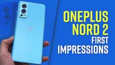 OnePlus Nord 2 first look