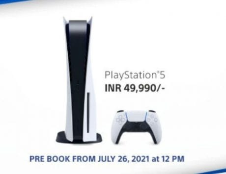 Sony PS5 to be restocked on July 26 in India