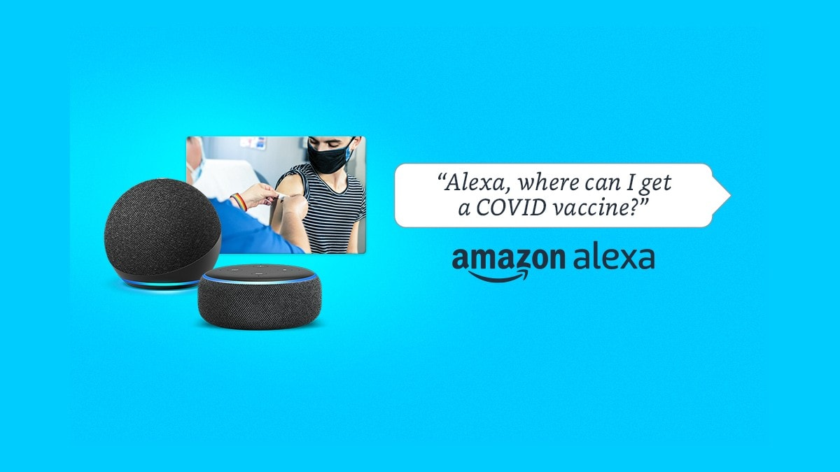 Amazon Alexa lets you find nearest COVID vaccine or testing centre: Here is how