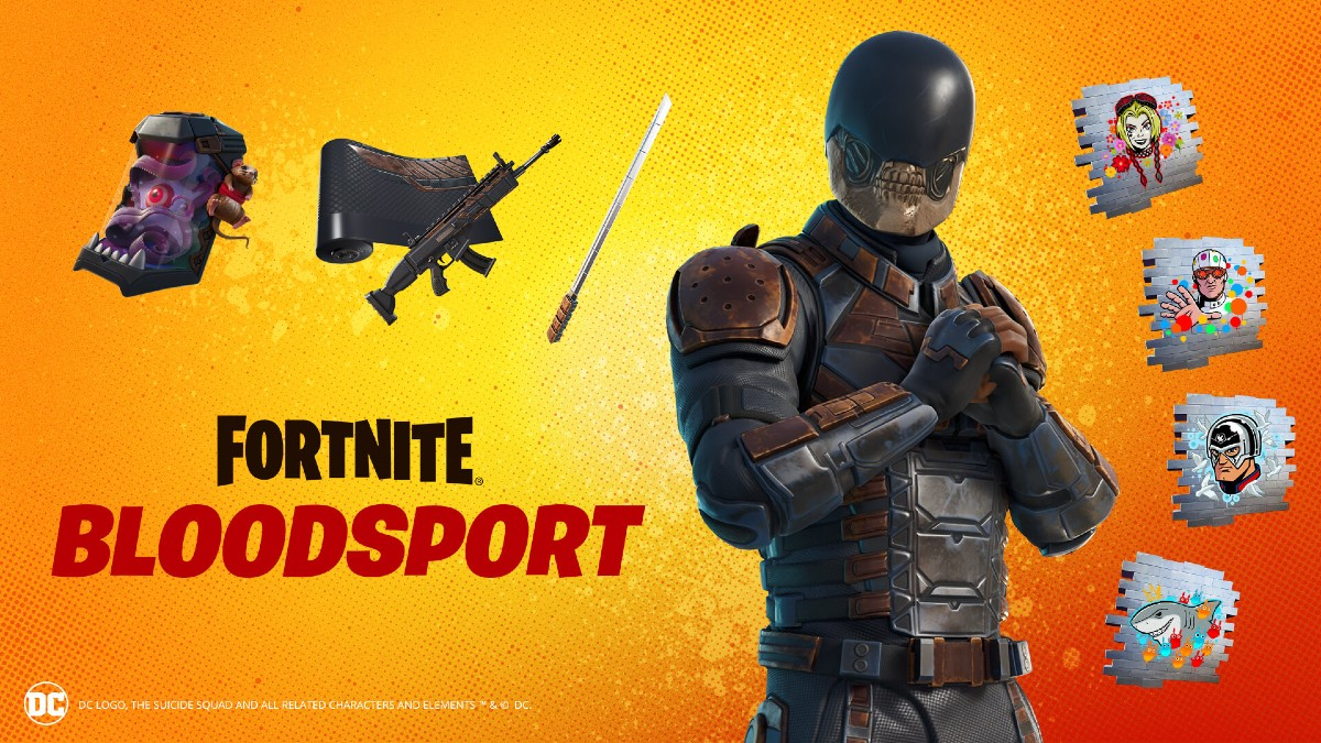 Suicide Squad's Bloodsport comes to Fortnite along with Picky Sicky Harley Quinn