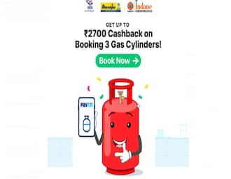 Book LPG cylinder via Paytm and get discount up to Rs 2,700: How to grab the deal
