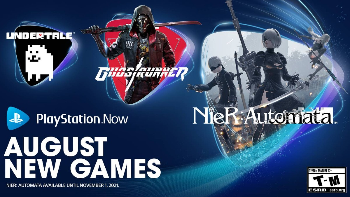 PlayStation Now adds Nier: Automata, Ghostrunner, Undertale for PS4, PS5 players
