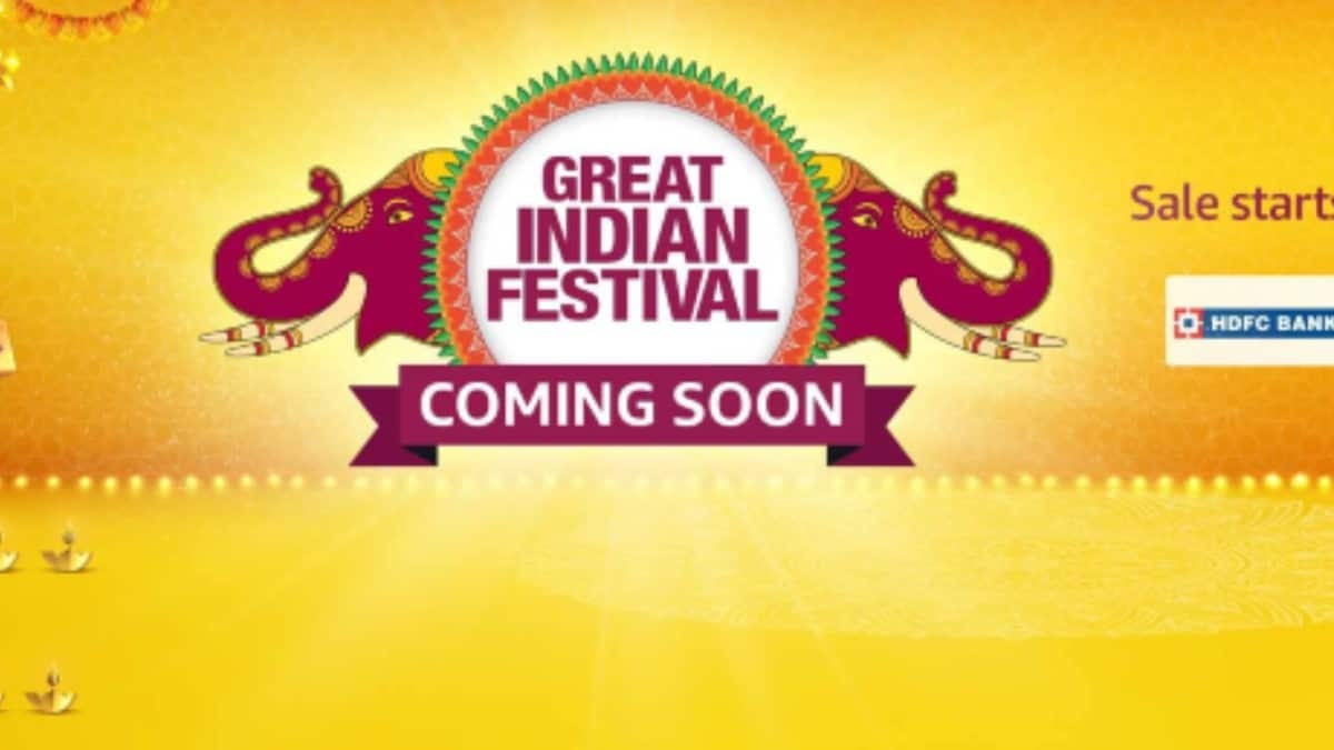 Amazon Great Indian Festival sale announced, HDFC card users get extra 10 percent instant discount