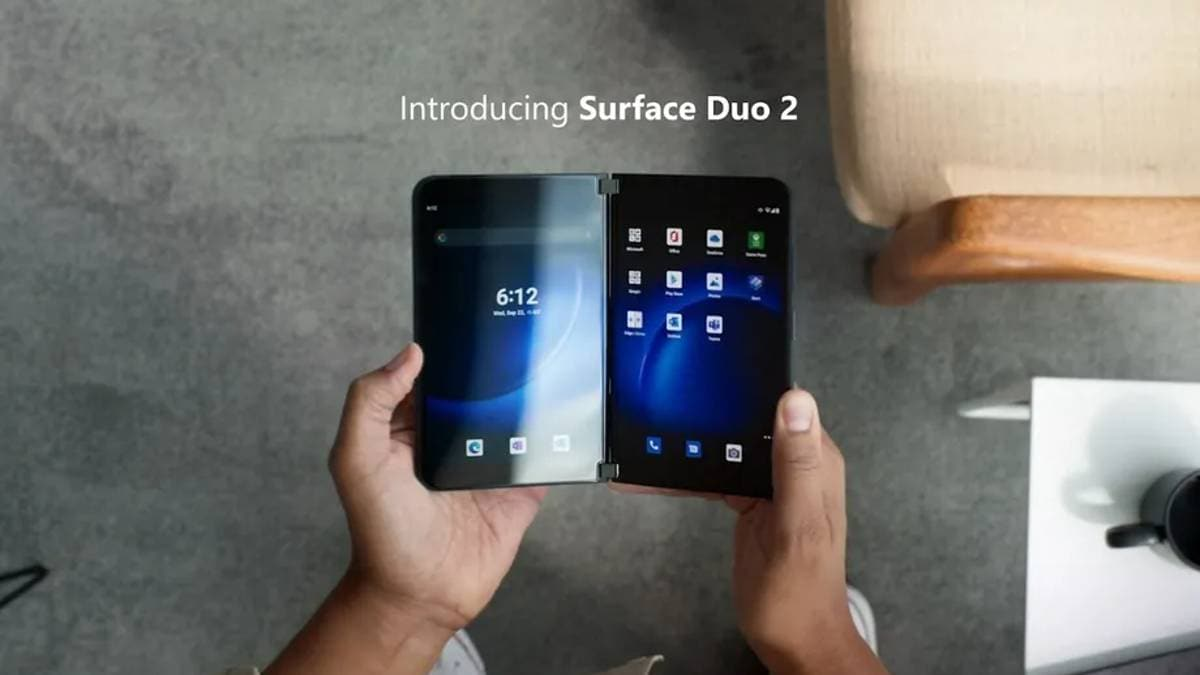 Microsoft Surface Duo 2 launched, gets major upgrades over the original Duo