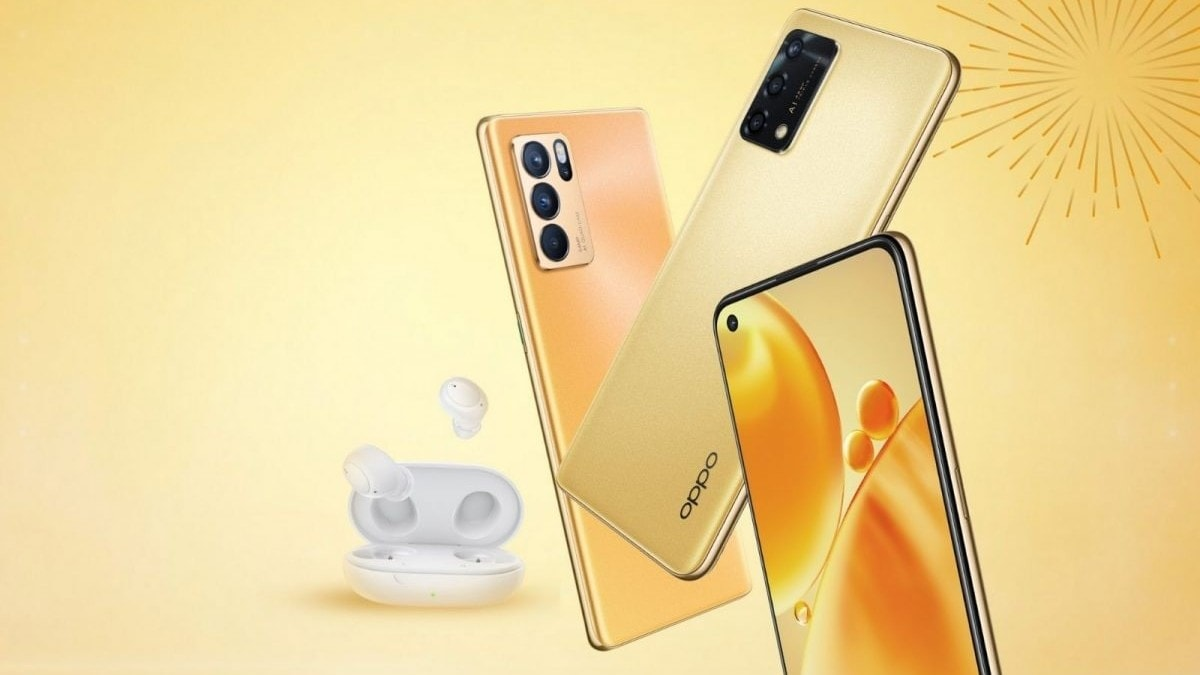Oppo F19s Special Edition, Reno 6 Pro 5G Diwali Edition, Enco Buds Blue launched in India: Price, specifications
