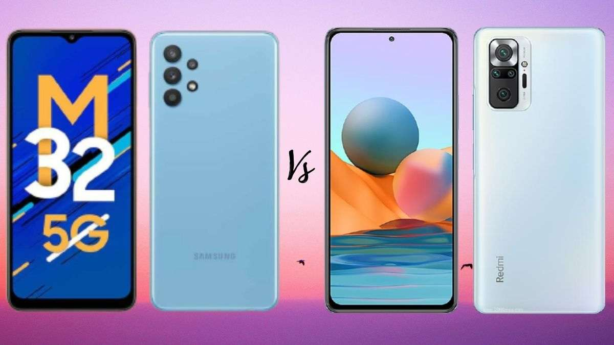 Samsung Galaxy M32 5G vs Redmi Note 10 Pro: Which is a better deal under Rs 20,000?