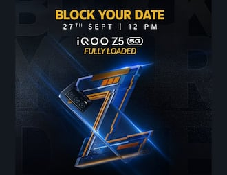 iQOO Z5 India launch officially confirmed for next week: Check the date