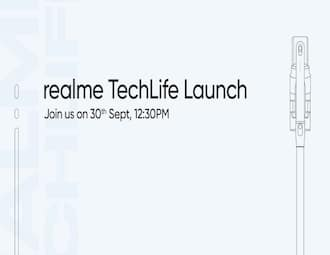Realme launching TechLife vacuum cleaner, air purifier in India on September 30
