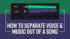 Want To Separate Vocals And Music From A Song ? Here Is How You Can Do It