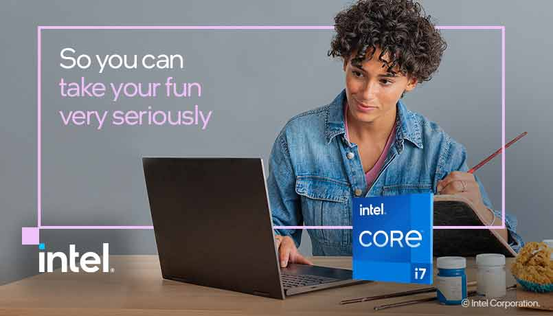 Get the Best of Technology with Latest Intel-Powered Laptops