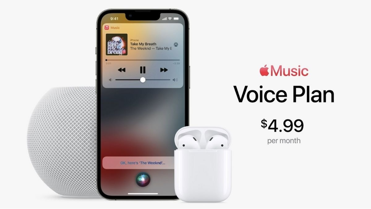 Apple launches Music Voice subscription plan at Rs 49 per month